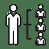 HR-järjestelmä, johtaminen